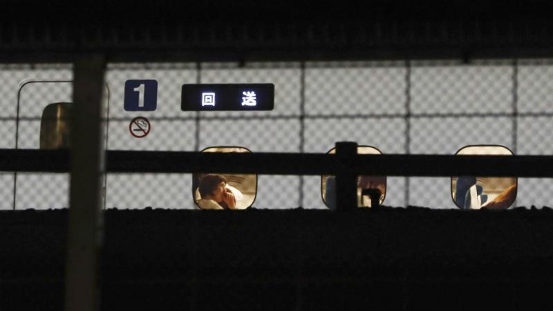 Ataque num comboio bala no Japão