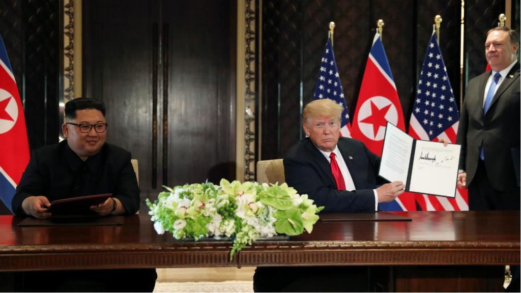 O acordo entre Kim e Trump