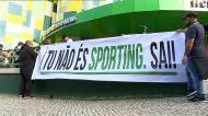 Sporting: manifestação em Alvalade contra Bruno de Carvalho