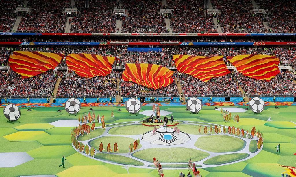 Mundial 2018: Cerimónia de abertura