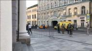 Taxi desgovernado provoca oito feridos em Moscovo