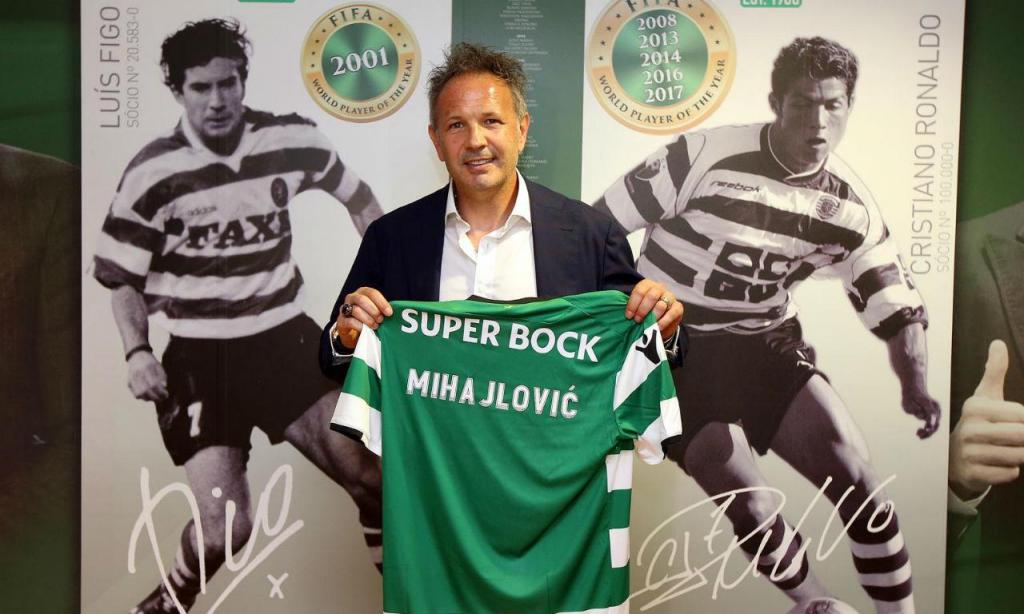 Mihajlovic (site Sporting)