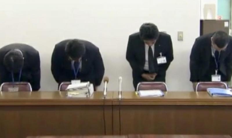 O pedido de desculpas do trabalhador japonês