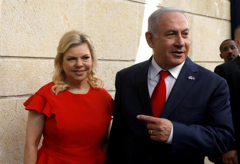 Sara e Benjamin Netanyahu - Israel