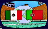 México Portugal n'Os Simpsons