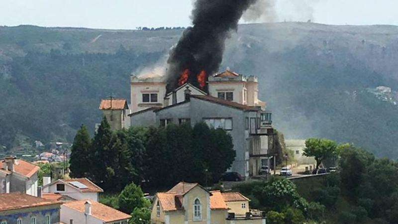 Incêndio no hotel de Penacova