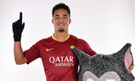 Justin Kluivert (Twitter AS Roma)