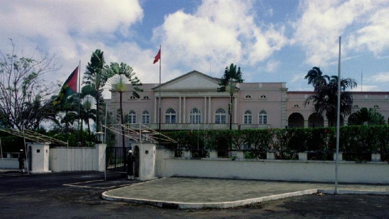 S. Tomé e Príncipe - Palácio presidencial