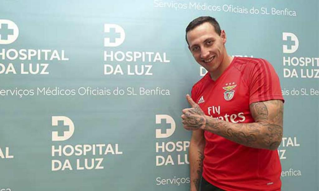 Cristian Lema (site do SL Benfica)