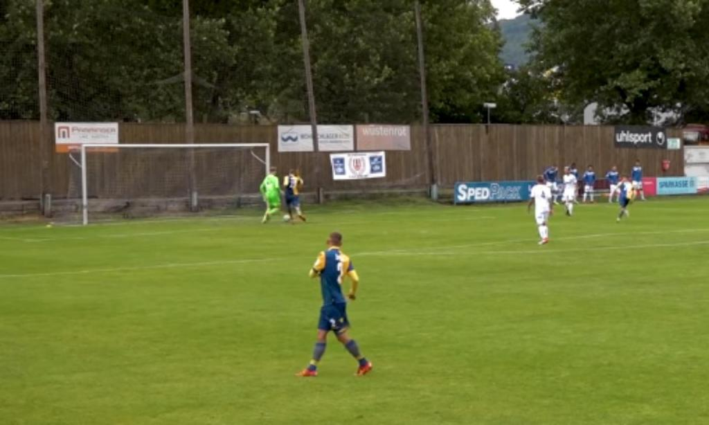 Golo sofrido em jogo particular: Linz-Streda
