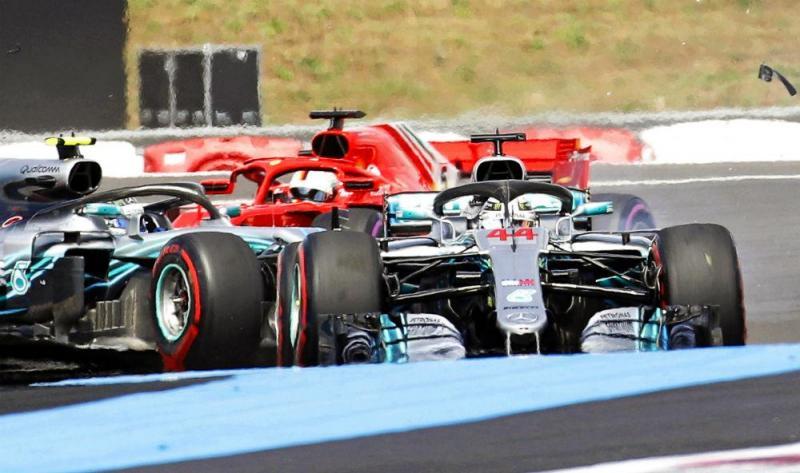 Vettel e Bottas (Lusa)