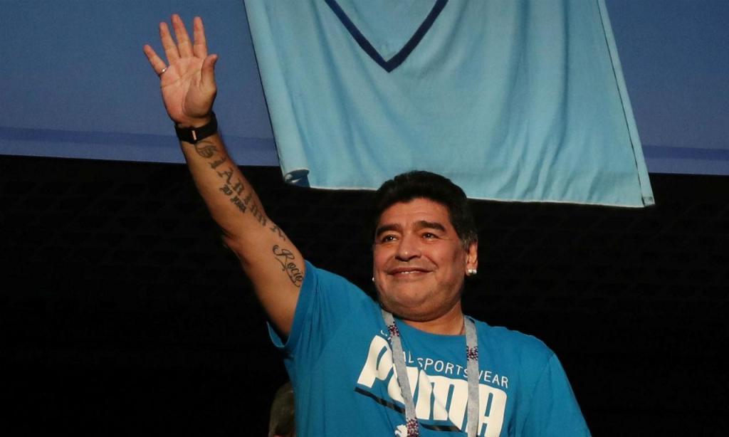 Maradona (Reuters)