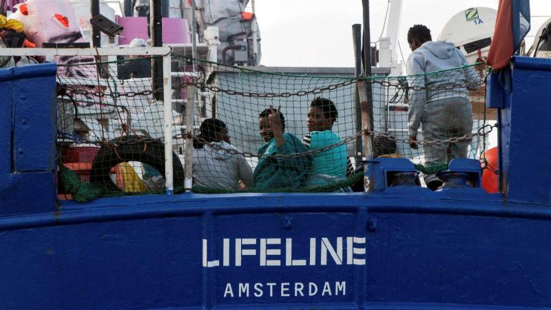 Embarcação Lifeline