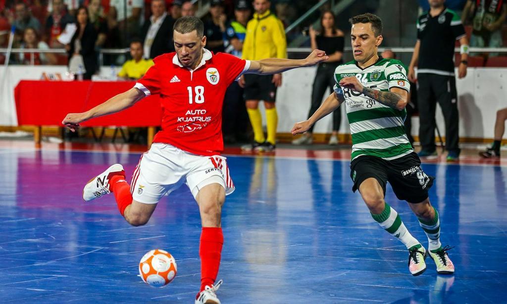 Futsal: Benfica-Sporting