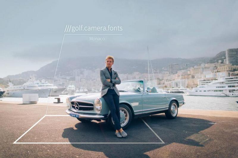Nico Rosberg - what3words
