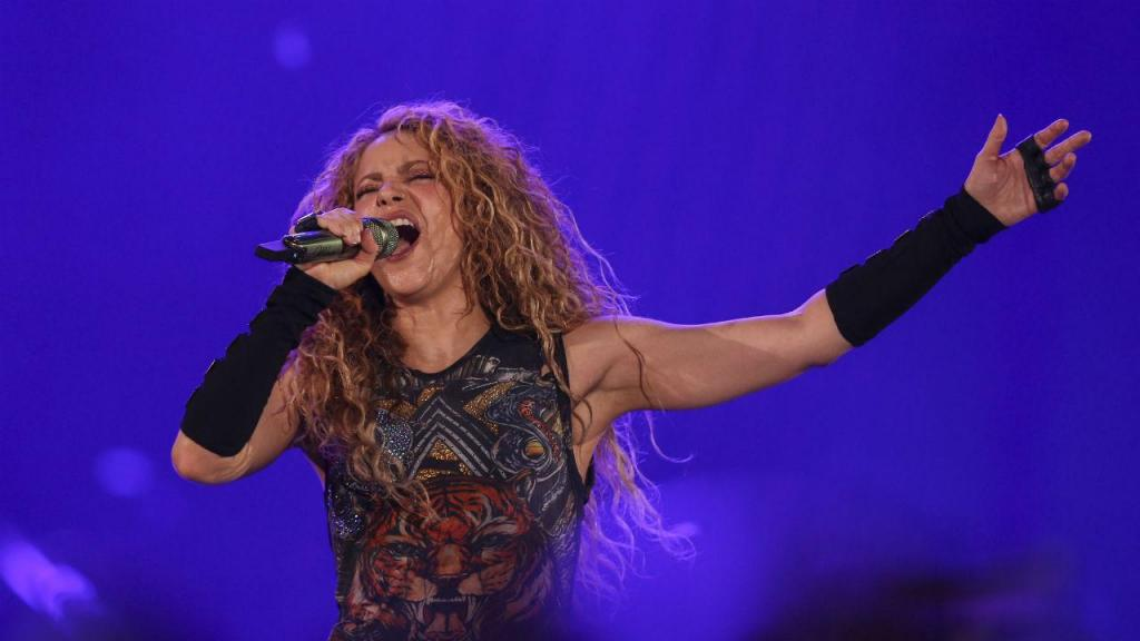 Shakira em Lisboa