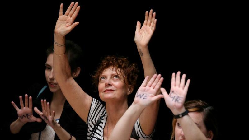 Susan Sarandon detida