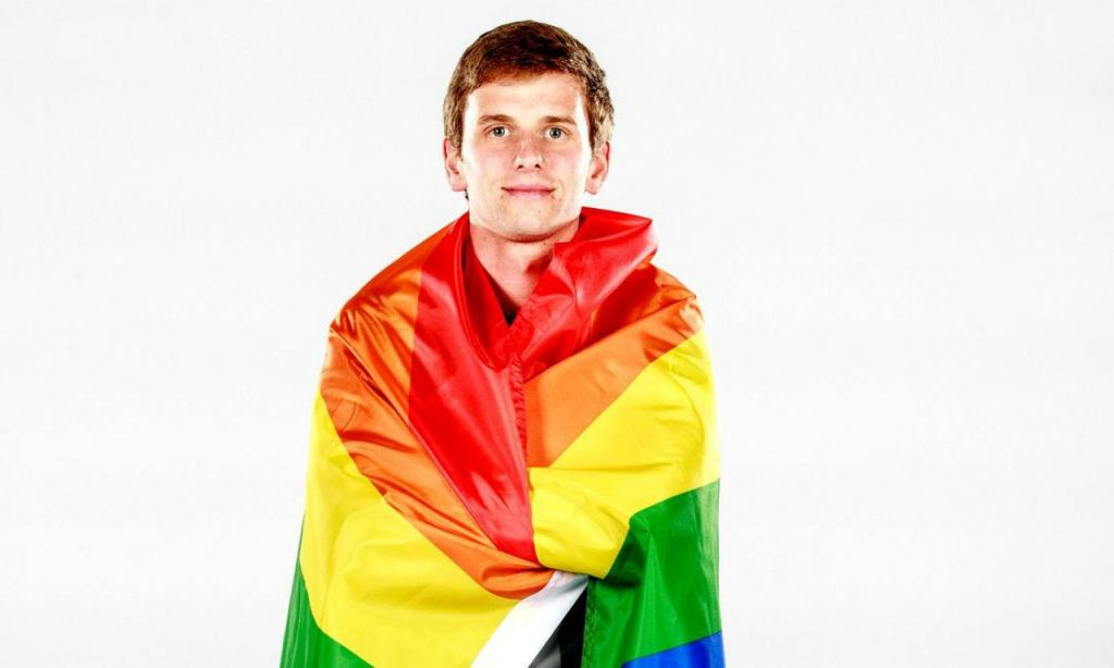 Collin Martin assumiu hmossexualidade
