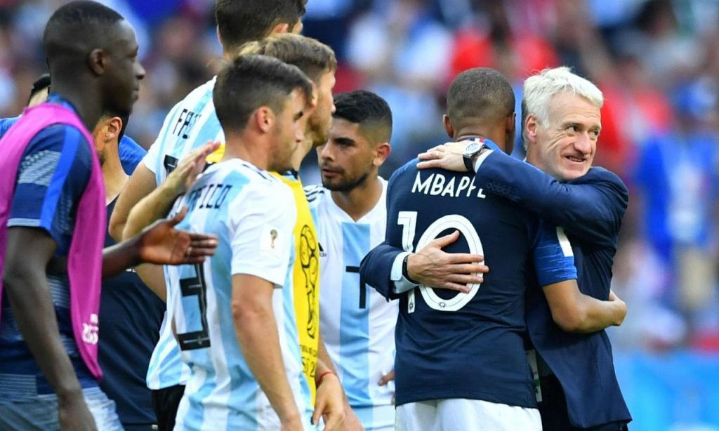 França-Argentina (Foto Reuters)