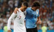 Cristiano Ronaldo e Cavani
