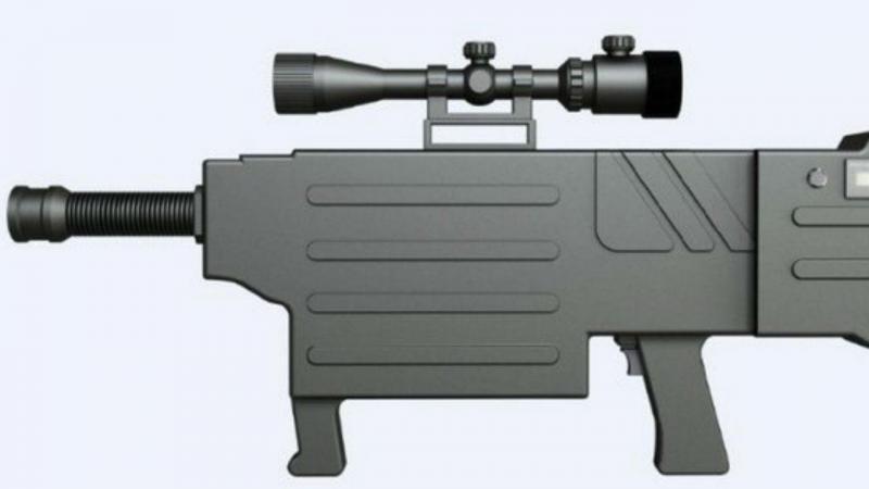 ZKZM-500, a arma de raios laser capaz de matar