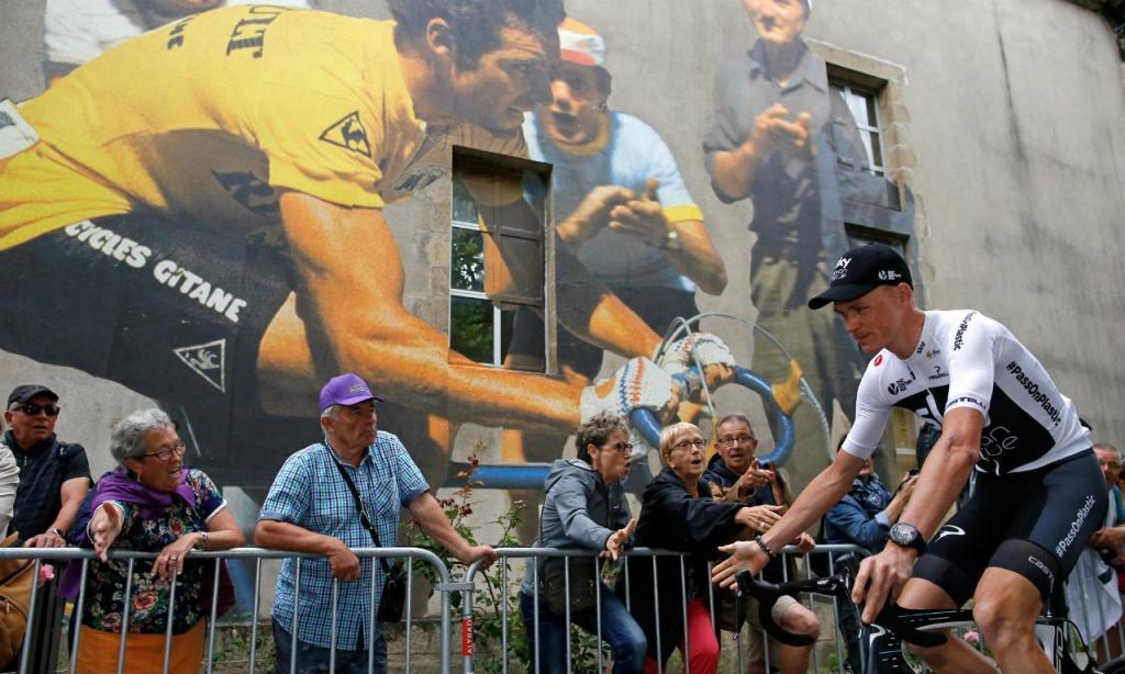 Froome no Tour (REUTERS/Stephane Mahe)