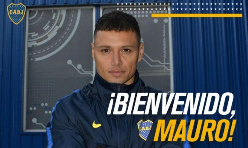 Mauro Zárate (foto: Boca Juniors)