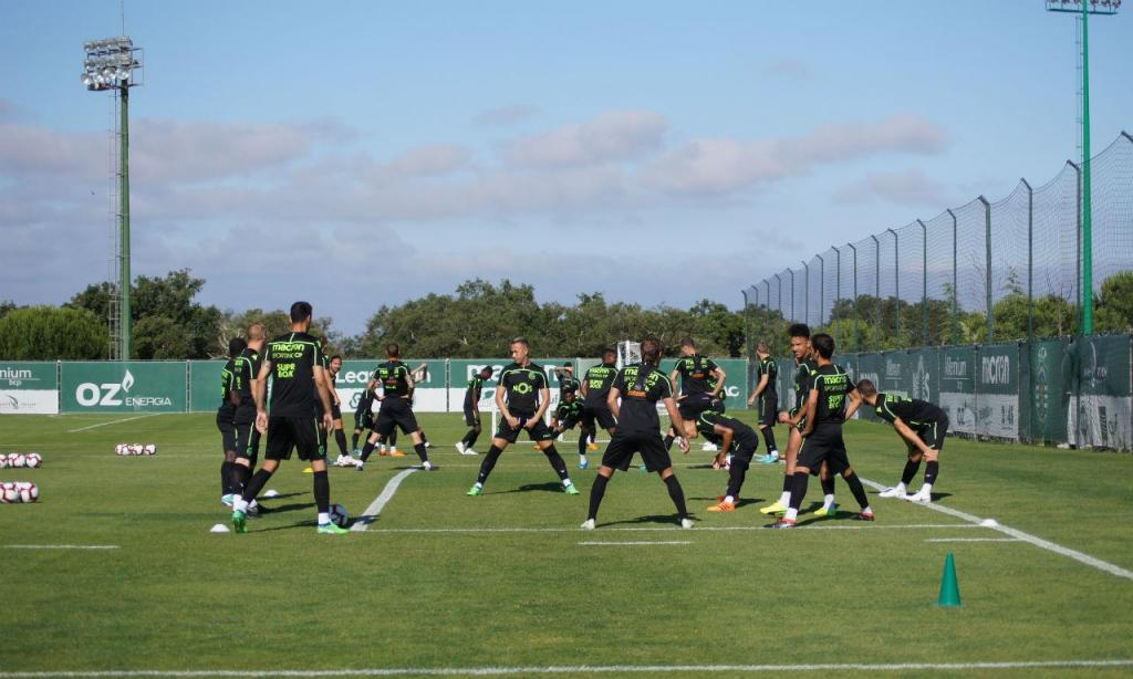 Treino Sporting (foto: Sporting CP)