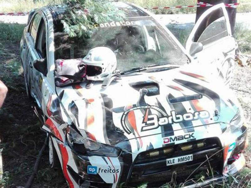 Atropelamento mortal no Rali de Viana do Castelo
