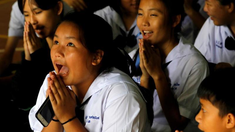 Segundo dia de resgate na gruta da Tailândia