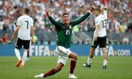 Alemanha-México, o primeiro grande choque. O campeão do mundo surpreendido na estreia, derrotado por um golo de Lozano. No mesmo dia o Brasil a marcar passo frente à Suíça e logo a abrir o Mundial da Rússia a prometer reescrever os guiões mais previsíveis.