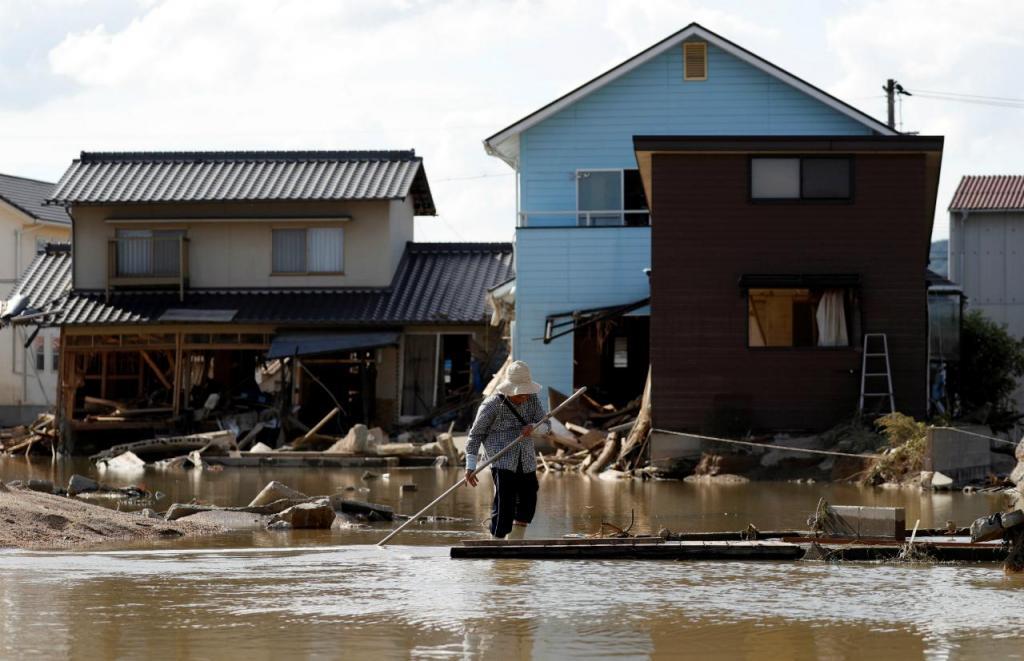 Japão - inundações