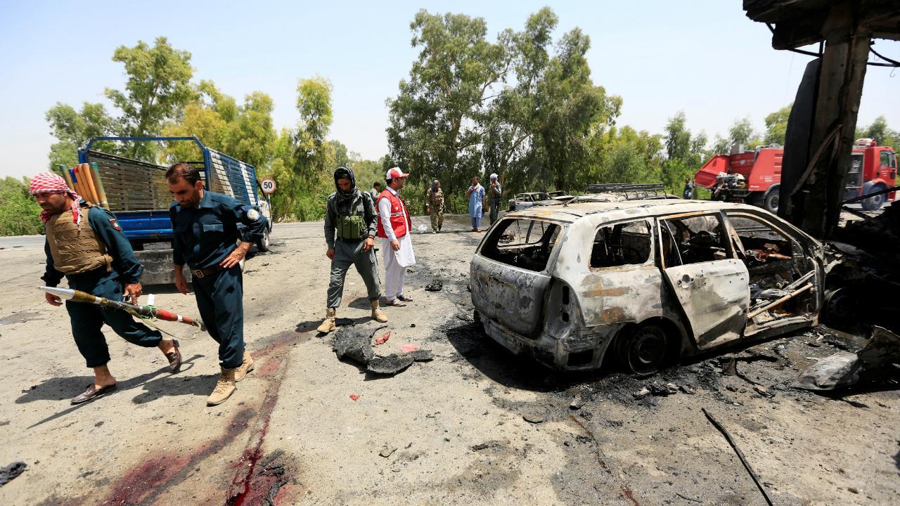 Ataque suicida no Afeganistão