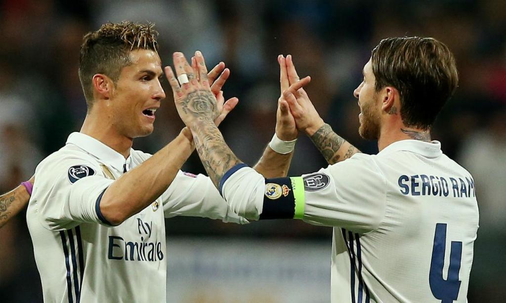 Ramos e Ronaldo (Reuters)
