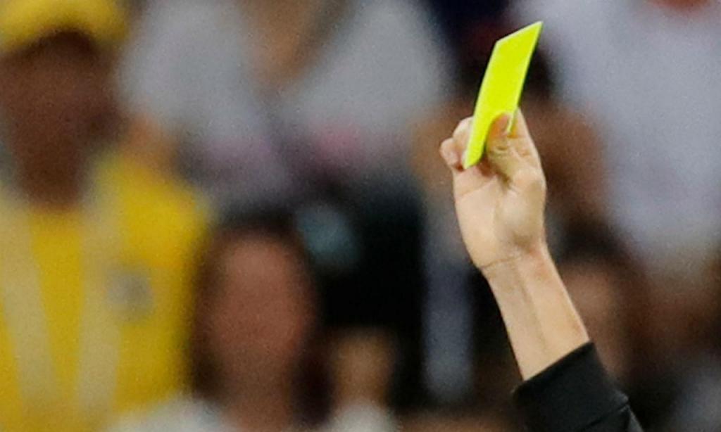 Cartão amarelo (Reuters)