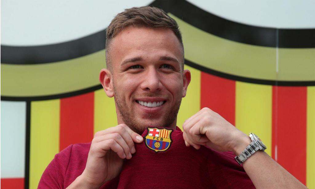 1. Arthur, do Barcelona para a Juventus (72 milhões de euros)