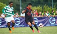 Sporting venceu o Nice por 1-0 (fotos do Nice)