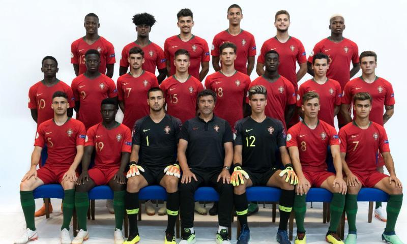 Seleção sub-19 (Foto FPF)