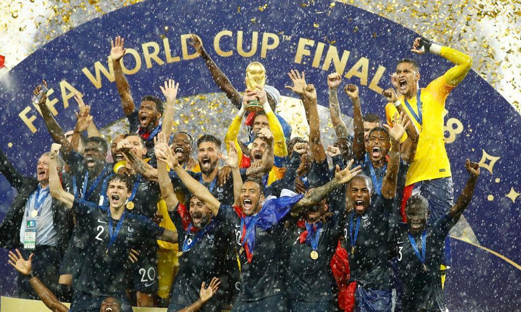 França é campeã do Mundo