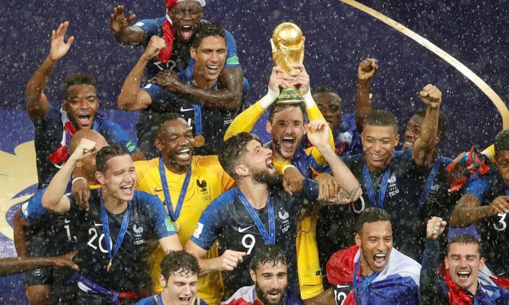 Mundial 2018: a festa dos campeões