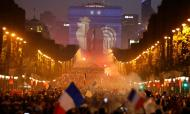 Mundial 2018: um mar de gente na festa da França