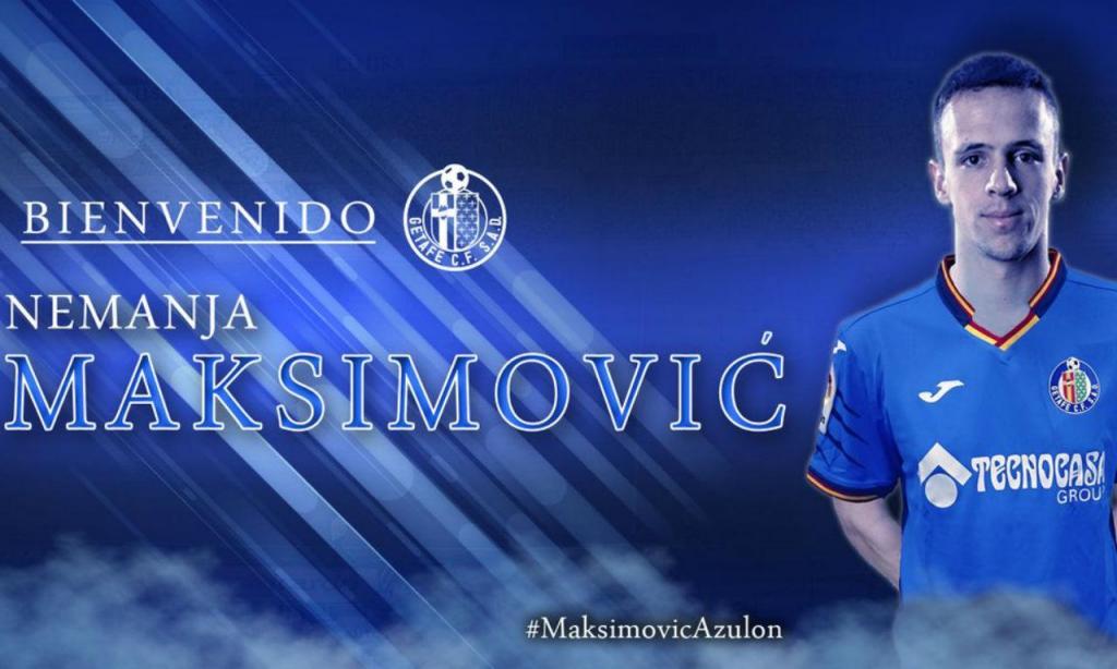 Maksimovic (twitter Getafe)
