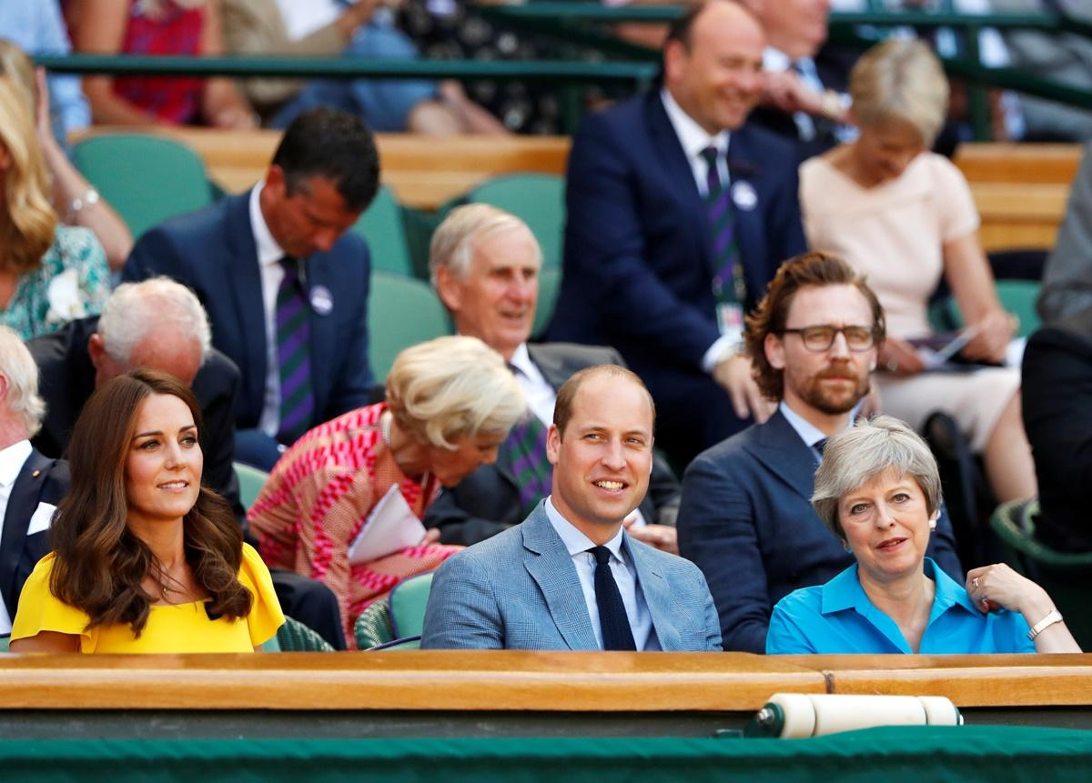 Kate Middleton e príncipe William em Wimbledom