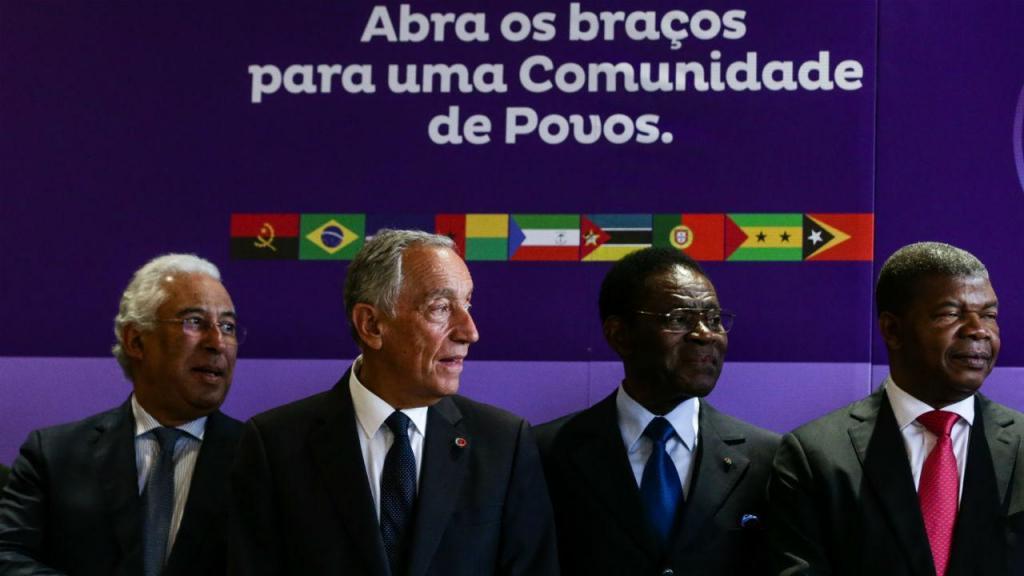 Marcelo e António Costa na Cimeira da CPLP
