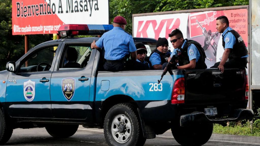 Polícia da Nicarágua