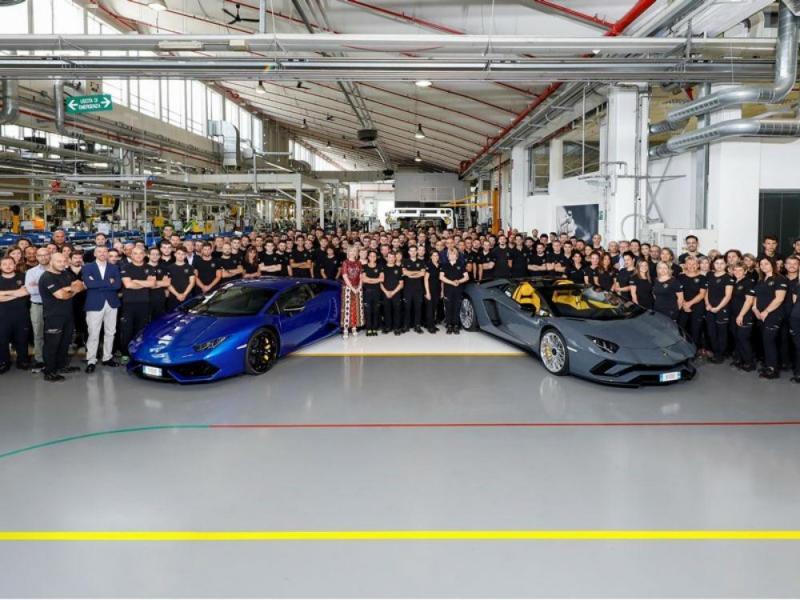 Lamborghini Aventador  e Huracán