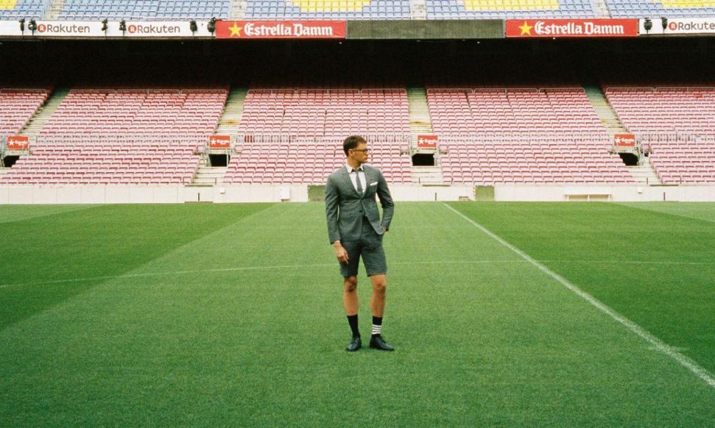 O novo fato do Barça para as deslocações