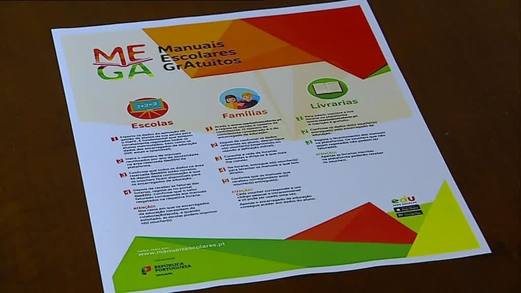 Plataforma online disponível para adquirir manuais escolares gratuitamente