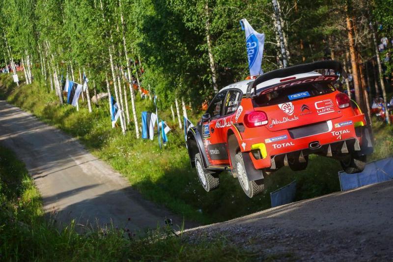 C3 WRC Rali Finlândia
