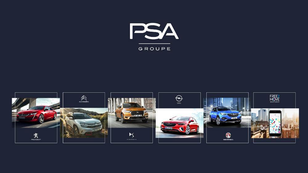 Grupo PSA marcas